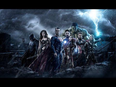 Marvel/DC Music Video - Feel Invincible