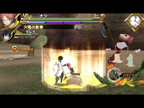 Fairy Tail Portable Guild Psp Gameplay
