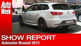 Brussels Motorshow Report