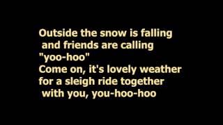 KARMIN - Sleigh Ride ( lyrics)