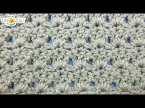 Primrose Crochet Stitch – Calendar Blanket – February