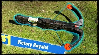 NERF Mod: Fortnite Battle Royale Crossbow Nerf Gun Mod IN REAL LIFE!