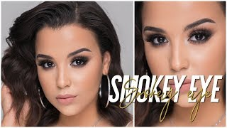 HOW TO: EASY SMOKEY CAT EYE! MY GO-TO MAKEUP LOOK 2018! | MakeupByAmarie