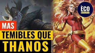 12 Seres cósmicos más temibles que Thanos Marvel comics