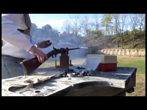 Shooting my  50 Smith Carbine in HD - YouTube