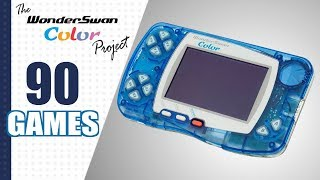 The WonderSwan Color Project - All 90 WSC Games (US/EU/JP)