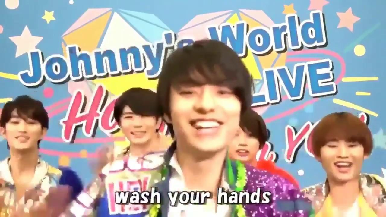 手洗い ダンス