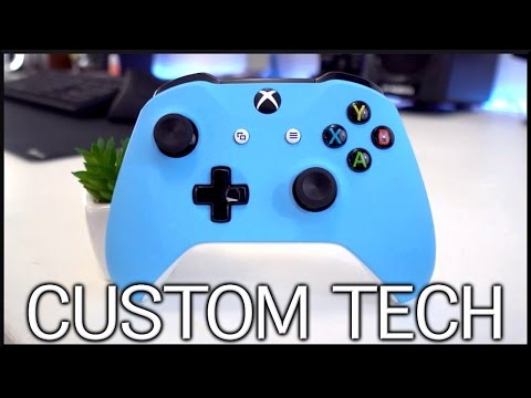 Top 4 Custom Tech Products!