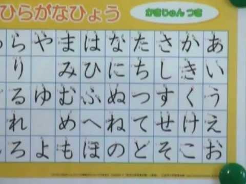 японский язык урок5_хирагана, часть1