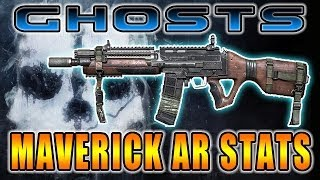 Call of Duty Ghosts Is the Maverick OP? Weapon Stats for Maverick AR