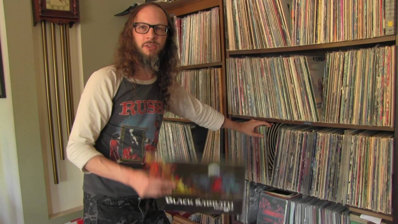 Witch Mountain S Nate Shows Record Collection Youtube