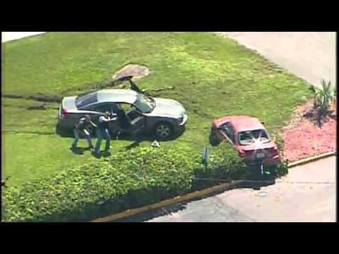 Raw Video Police Shootout in Tampa, Florida Tampa Police US Marshal, HCSO