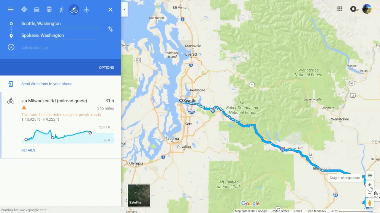 Bicycle tour using google maps part 2 elevation gain and loss bicycle tour using google maps part 2 elevation gain and loss gumiabroncs Choice Image
