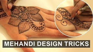 Simple Mehandi Design For Beginners! | Say Swag
