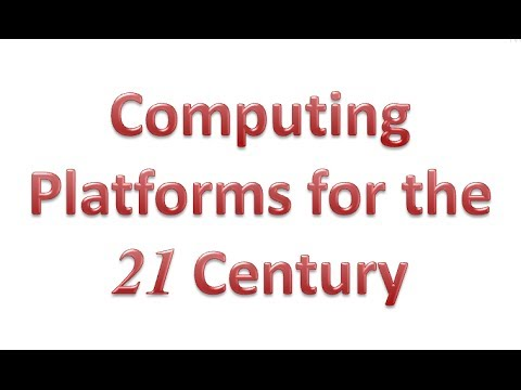 Computing Platforms for the 21C - Uo.Liverpool, 25feb14