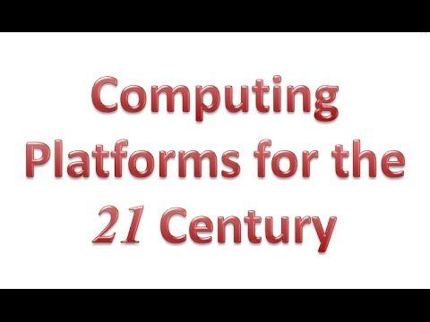 Computing Platforms for the 21C - Uo.Liverpool, 25feb14