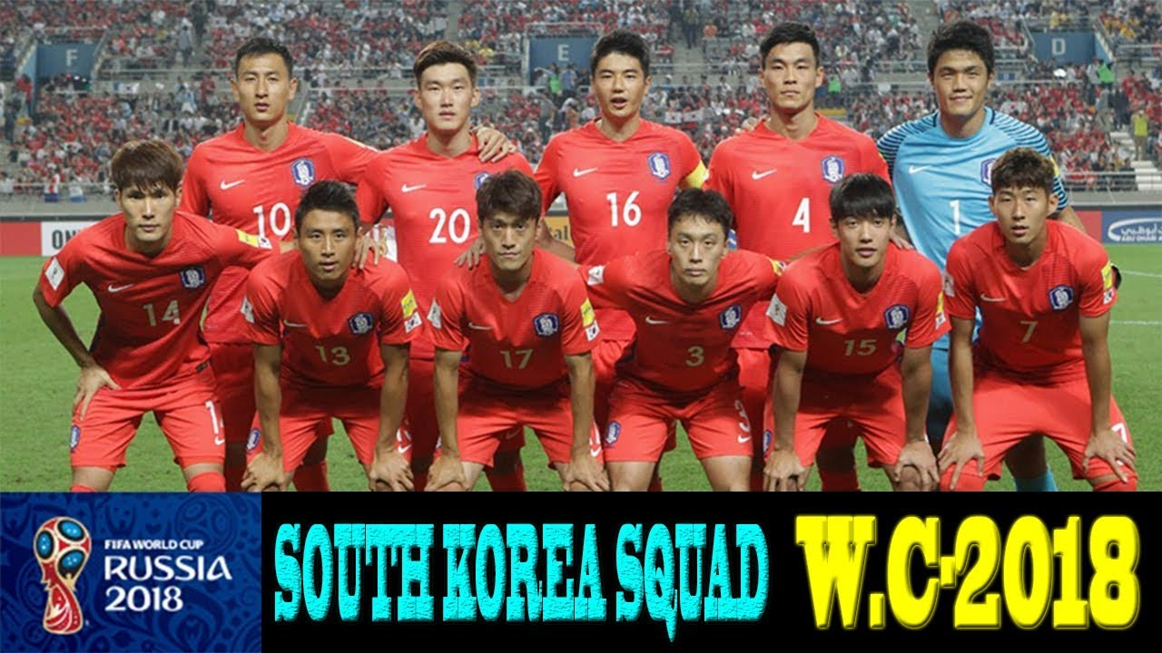 c92f65bef South Korea squad for world cup 2018 || fifa world cup|| South Korea squad  for fifa world cup 2018.