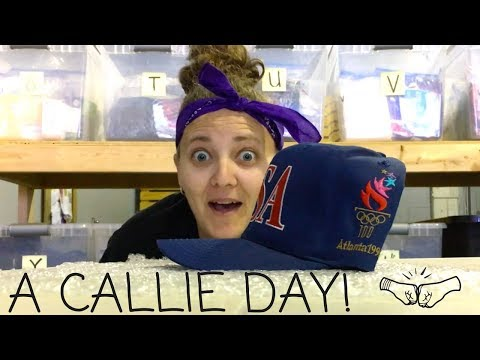 Callie Hijacked Our YouTube! 😂😂 eBay Shipping Tips & Fun! A day w/Callie |  RALLI ROOTS s2.e34.