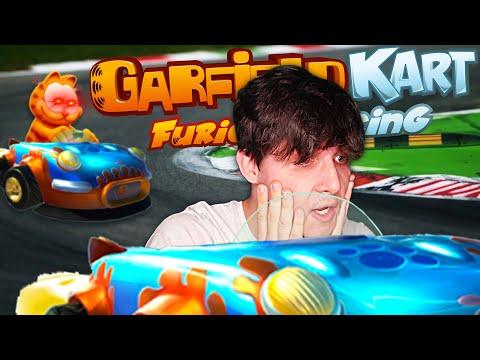 At 10:00 Garfield Kart Finally Breaks Me |