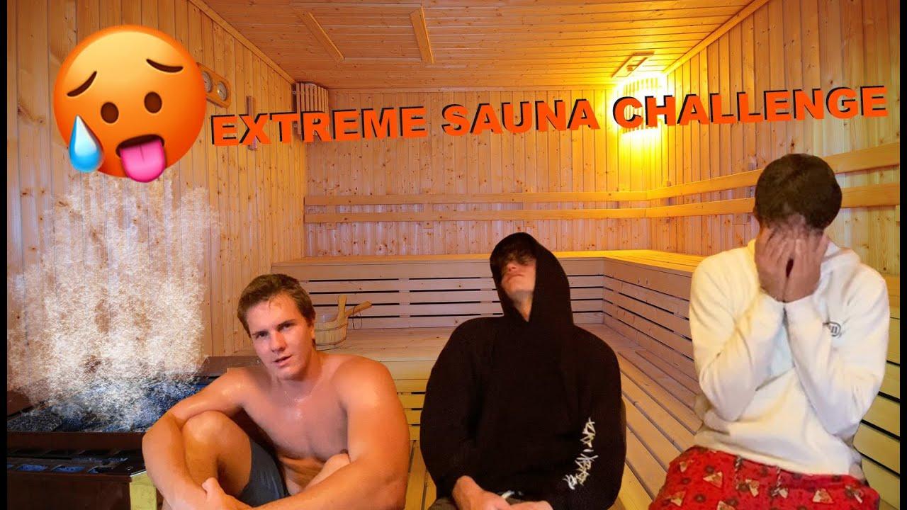 Last to LEAVE SAUNA Challenge EXTREME... (140ºF+)