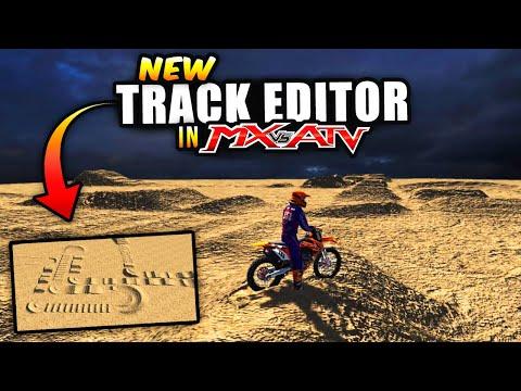 NEW TRACK EDITOR In MX Vs ATV!
