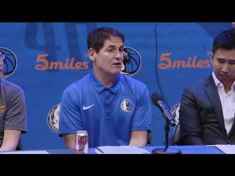 Dallas Mavericks owner Mark Cuban explains cryptocurrency and the 5miles App