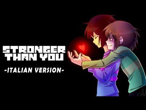 [Undertale] Stronger Than You (Frisk Response Parody) -italian version-