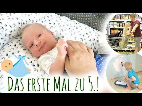 Unser erster Vlog mit Baby | Endlich zu 5.! | Kinderzimmer-Arbeiten beginnen