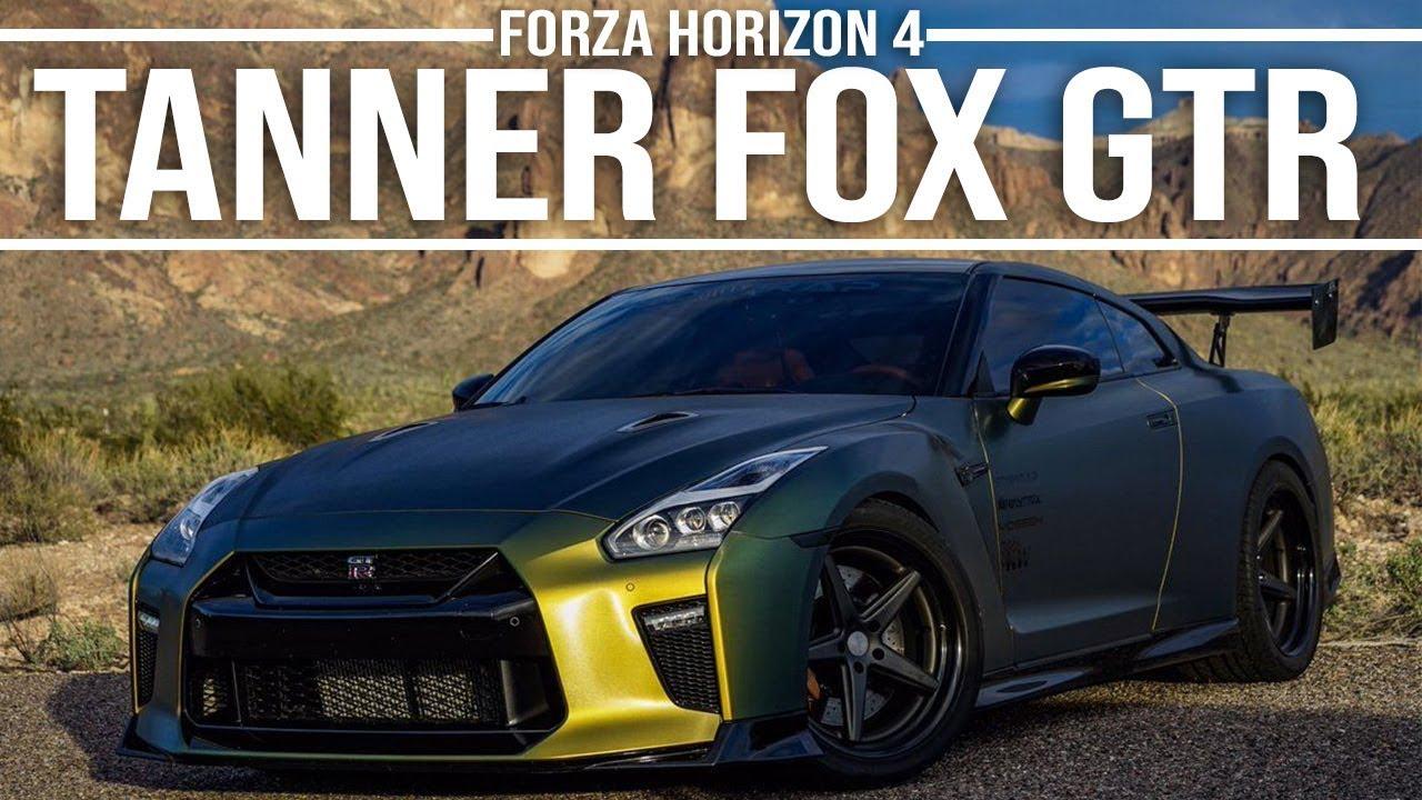 Tanner fox gtr r35 drift build forza horizon 4 youtube - Tanner fox gtr pictures ...