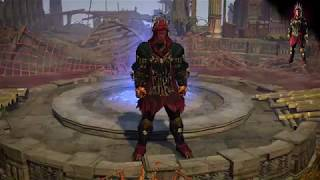 Path of Exile: Raven Armour Set