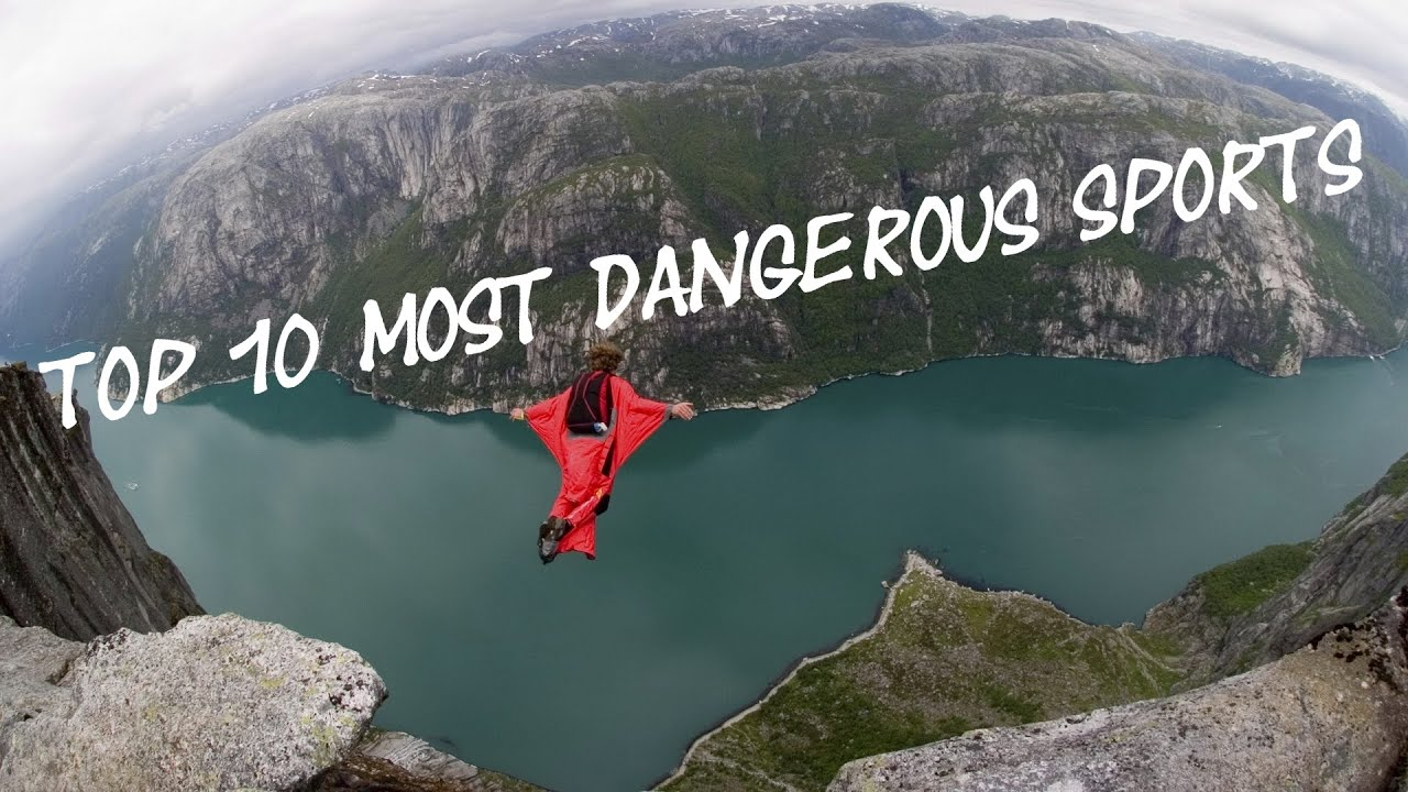 TOP 10 Most Dangerous Extreme Adrenaline Sports in the World 2016 (Full HD)