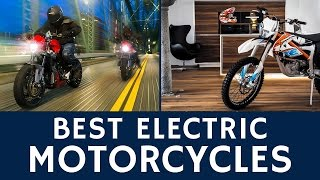 12 Best Electric Motorcycles and Fastest Race Bikes to Buy