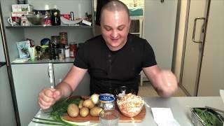 Селёдочка картошечка да под водочку MUKBANG мукбанг итинг eating shows