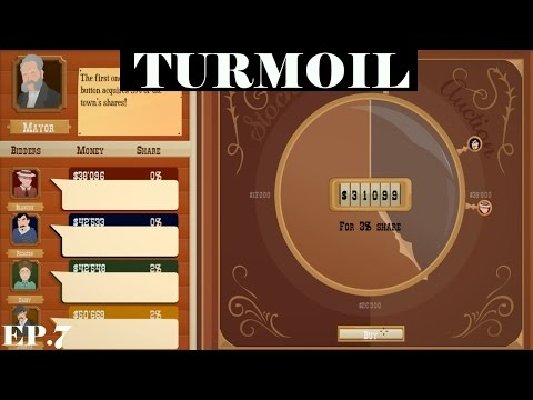 TRICKY STOCK AUCTION | Turmoil #5