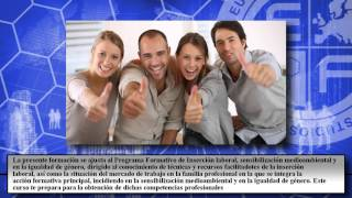 Fcoo03 Insercion Laboral Sensibilizacion Medioambiental Y En - Cursos Online