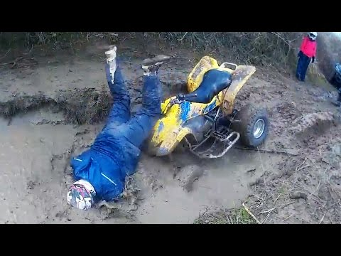 Ultimate ATV Crashes/Fails & Quad Wrecks 2016