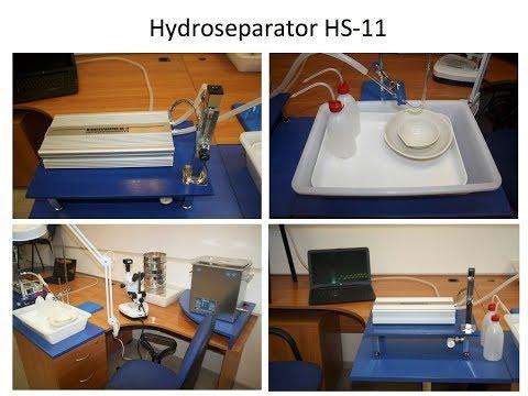 CNT HS 11 Sample Preparation for mineralogical studies
