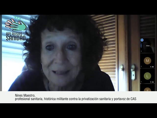 Entrevista a Nines Maestro y Toño de CAS con motivo del 20J
