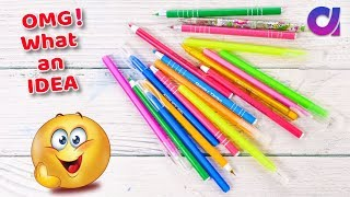 Best Use Of Waste Pen Idea   DIY Projects   HOME DECOR   Artkala