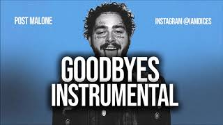 """Post Malone """"Goodbyes' ft. Young Thug Instrumental Prod. by Dices *FREE DL*"""