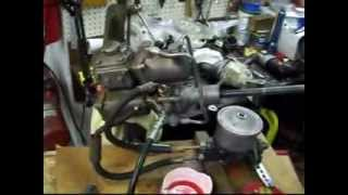 1955 Buick Power Steering Gear Part 5 (Bench Testing)