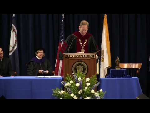 Charge to Graduates  | Dr  Timothy O'Donnell