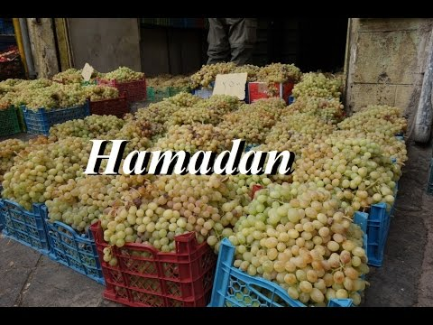Iran/Hamadan Market (grape harvest) Part 86