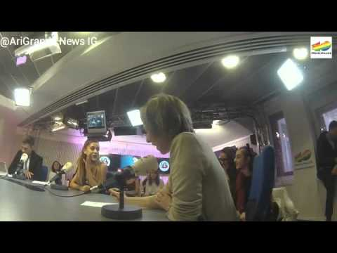Ariana Grande's interview in Spain with Los 40