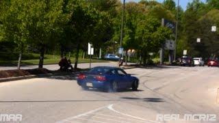 Best Burnouts + Drifts of 2013 Mid-Atlantic Mega Meet - 350Z - C63 AMG Black Series - 240SX