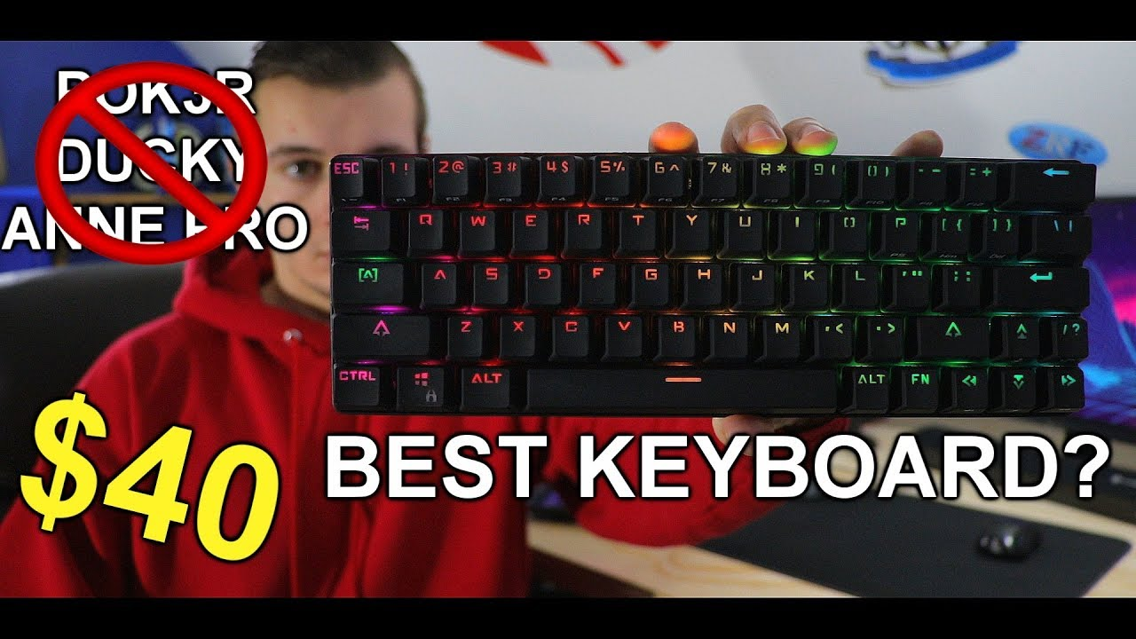 Best Cheap 60% Mechanical Keyboard Only $40 On Amazon