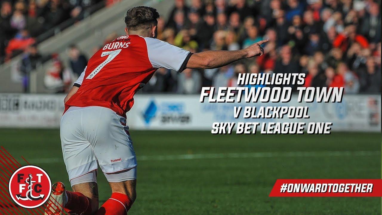 Fleetwood Town 3-2 Blackpool | Highlights