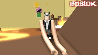 We're The Long-Armed Man Running Away from the Lava! - Roblox Noodle Arms with Panda