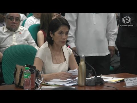 CA quizzes Lopez on definition of watersheds