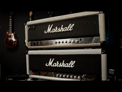 Marshall Silver Jubilee Original vs. Reissue Comparison